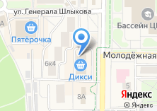 Компания «Дикси» на карте
