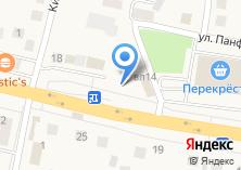 Компания «Магазин разливного пива на Московской» на карте