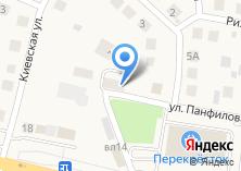 Компания «Магазин отделочных и строительных материалов» на карте