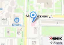 Компания «Московский областной фонд обязательного медицинского страхования» на карте