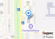 Компания «АКБ Военно-промышленный банк» на карте