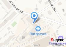 Компания «Александрита» на карте