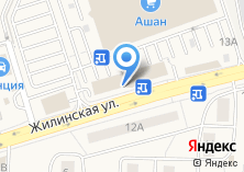 Компания «Магазин цветов на Жилинской» на карте