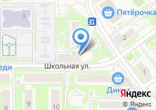 Компания «Продуктовый магазин в Кокошкино» на карте