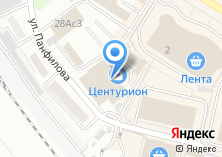 Компания «Центурион» на карте