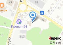 Компания «Автория» на карте