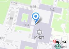 Компания «МИЭТ» на карте