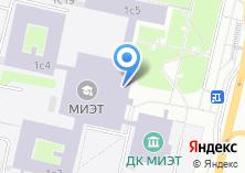Компания «Московский институт электронной техники» на карте