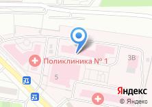 Компания «Московский областной Одинцовский родильный дом» на карте