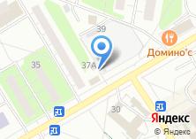 Компания «Сладости» на карте