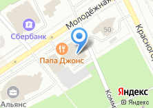 Компания «Новые Окна» на карте