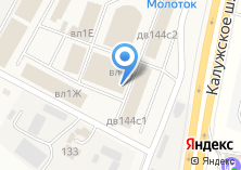 Компания «Магазин строительных смесей на Калужском шоссе» на карте