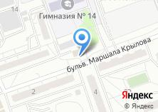 Компания «Утелик» на карте