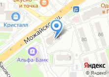 Компания «Оконные технологии» на карте