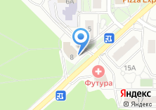 Компания «Центр занятости населения Троицкого и Новомосковского АО» на карте
