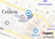 Компания «Российская международная академия туризма» на карте