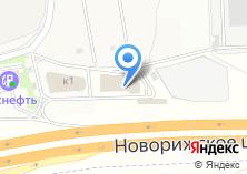 Компания «Строящееся административное здание по ул. М9 Балтия 23 км (г. Красногорск)» на карте