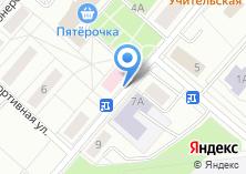 Компания «Троицкая центральная городская больница» на карте