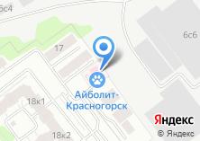Компания «АРТВЕТ» на карте
