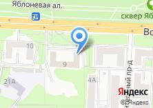 Компания «Красногорское медицинское училище» на карте