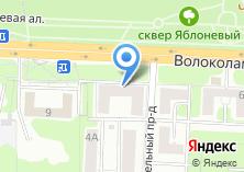 Компания «Управление социальной защиты населения Красногорского муниципального района» на карте