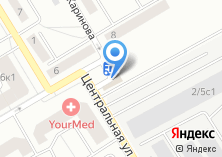 Компания «Магазин печатной продукции на Центральной (Подрезково)» на карте