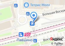 Компания «Павшино» на карте