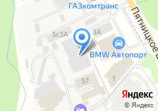 Компания «Атрис» на карте