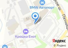 Компания «Крошка Енот» на карте
