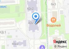 Компания «Гимназия №1549» на карте