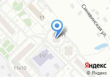 Компания «Строящийся жилой дом по ул. Синявинская» на карте