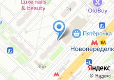 Компания «Ледиси» на карте