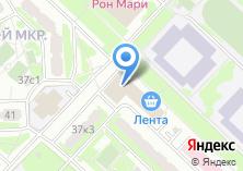 Компания «Почтовое отделение №119634» на карте