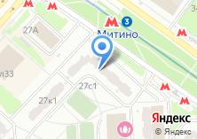 Компания «Такси Митино - Пассажирские перевозки» на карте