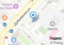 Компания «Митино-1» на карте