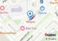 Компания «Местечко» на карте
