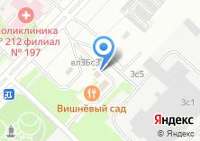 Компания «Шиномонтажная мастерская на Новоорловской» на карте