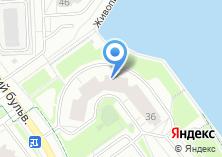 Компания «Строящийся жилой дом по ул. Павшинская пойма (г. Красногорск)» на карте