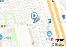 Компания «ЛТК АВТО» на карте