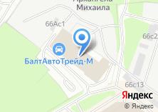 Компания «БалтАвтоТрейд-М» на карте