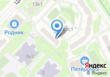 Компания «Митино-5» на карте