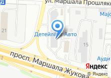 Компания «АвтоШинЦентр» на карте