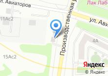 Компания «Шиномонтажная мастерская на Производственной» на карте