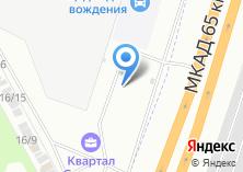 Компания «Стендор» на карте