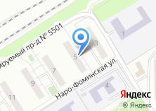 Компания «Московский областной учебно-курсовой комбинат автомобильного транспорта» на карте