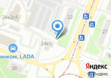 Компания «Fiat-shop» на карте