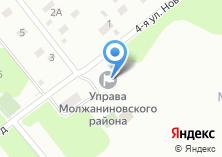 Компания «Территориальная избирательная комиссия Молжаниновского района» на карте