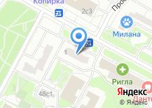 Компания «Магазин электроники» на карте