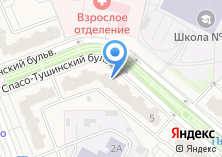 Компания «Строящийся жилой дом по ул. Путилковское шоссе» на карте