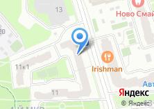 Компания «Фордевинд НОЧУ» на карте